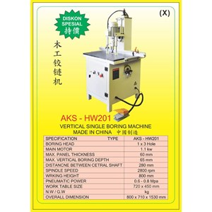 ALAT ALAT MESIN Vertical & Horizontal Multi Boring Machine HW201