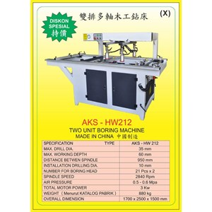 ALAT ALAT MESIN Vertical & Horizontal Multi Boring Machine HW212