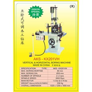 ALAT ALAT MESIN Vertical & Horizontal Multi Boring Machine KX201VH