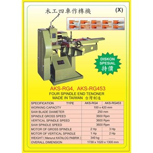 ALAT ALAT MESIN Dovetailing Machine & Tenoning Machine RG4