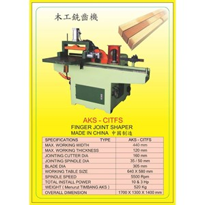 ALAT ALAT MESIN Finger Joint Shaper CITFS