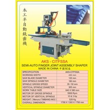 ALAT ALAT MESIN Finger Joint Shaper CITFSSA