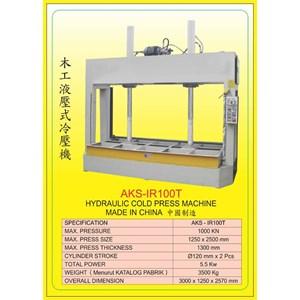 ALAT ALAT MESIN Hydraulic Wood Press IR100T