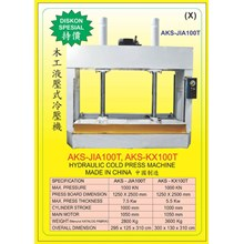 ALAT ALAT MESIN Hydraulic Wood Press JIA100T