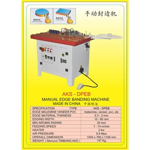 ALAT ALAT MESIN Edge Banding Machine DPEB