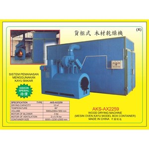 MESIN PENGERING KAYU Wood Drying Machine AX2259