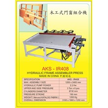 ALAT ALAT MESIN Frame Assembler Press IR408