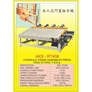 ALAT ALAT MESIN Frame Assembler Press RT408
