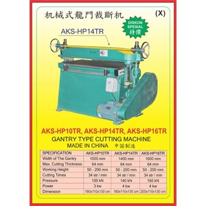 MESIN PRESS CUTTING MACHINE HP10TR