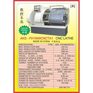 MESIN CNC  CNC LatheFH1640CNCTA1