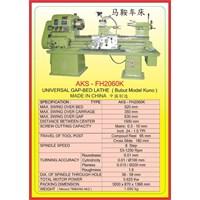 MESIN BUBUT Universal Gap Bed Lathe FH2460K 1