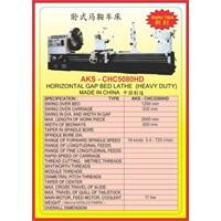 MESIN BUBUT Heavy Duty Horizontal Lathe CHC5080KD 1
