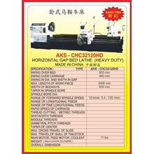 MESIN BUBUT Heavy Duty Horizontal Lathe CHC32120HD