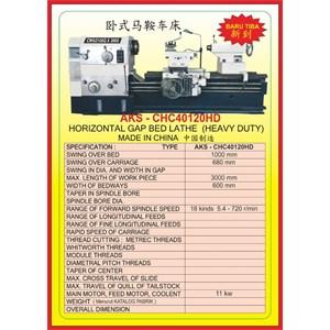 MESIN BUBUT Heavy Duty Horizontal Lathe CHC40120HD