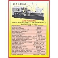 MESIN BUBUT Heavy Duty Horizontal Lathe IC32160HD 1