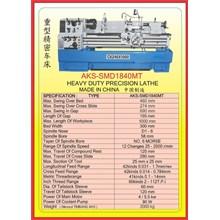 MESIN BUBUT Heavy Duty Horizontal Lathe SMD1840MT