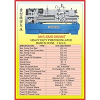 Jual MESIN BUBUT Heavy Duty Horizontal Lathe SMD1860MT