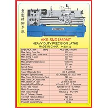 MESIN BUBUT Heavy Duty Horizontal Lathe SMD1860MT