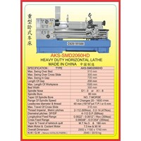MESIN BUBUT Heavy Duty Horizontal Lathe SMD2060HD 1