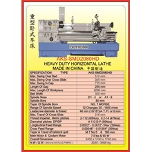 MESIN BUBUT Heavy Duty Horizontal Lathe SMD2080HD