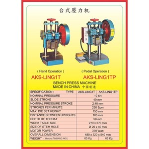 MESIN PRESS Bench Press LING1T