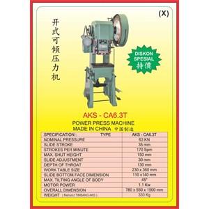MESIN PRESS Power Press CA6.3T