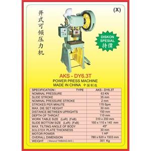 MESIN PRESS Power Press DY6.3T