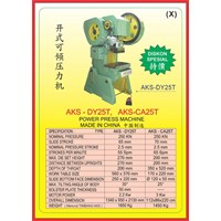 MESIN PRESS Power Press DY25T 1