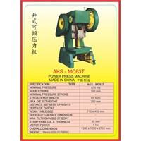 MESIN PRESS Power Press MC63T 1