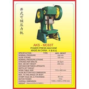 MESIN PRESS Power Press MC63T