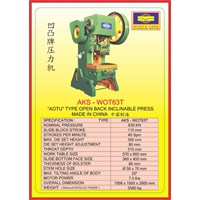 MESIN PRESS Power Press WOT63T 1