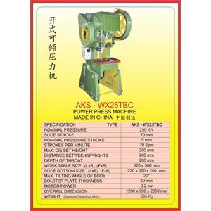 MESIN PRESS Power Press WX25TBC