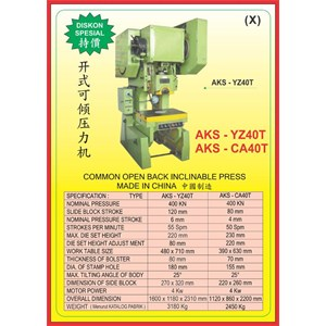 MESIN PRESS Power Press YZ40T