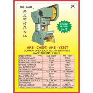 MESIN PRESS Power Press CA80T