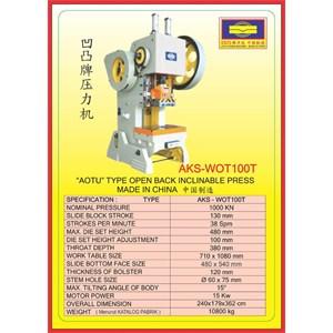 MESIN PRESS Power Press WOT100T