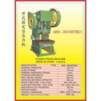 MESIN PRESS Power Press WX100TBC 1