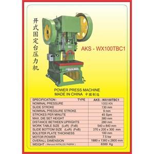 MESIN PRESS Power Press WX100TBC