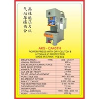 MESIN PRESS Power Press Hydraulic Protector CA45TH 1