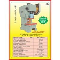 MESIN PRESS Power Press Hydraulic Protector CA100T1 1