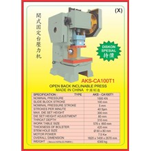 MESIN PRESS Power Press Hydraulic Protector CA100T1