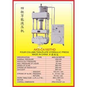 MESIN PRESS Power Press Hydraulic Protector CA160THD