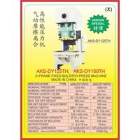 MESIN PRESS Power Press Hydraulic Protector DY125TH 1