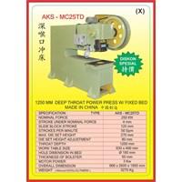 MESIN PRESS Open Back Deep Throat Press MC25TD 1
