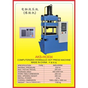MESIN PRESS Hydraulic Hot Press HC634