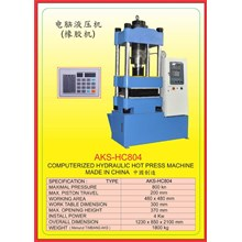 MESIN PRESS Hydraulic Hot Press HC804