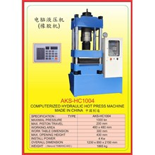 MESIN PRESS Hydraulic Hot Press HC1004