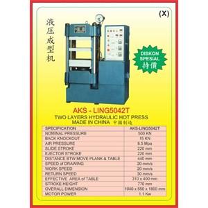 MESIN PRESS Hydraulic Hot Press LING5042T