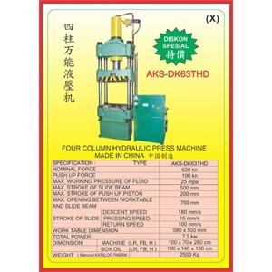 MESIN PRESS Four Column Hydraulic Press DK63THD