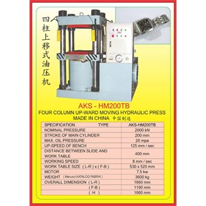 MESIN PRESS Four Column Hydraulic Press HM200TB