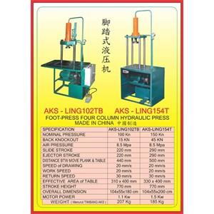MESIN PRESS Four Column Hydraulic Press LING102TB